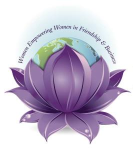 Womens Wisdom Flower Logo